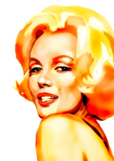 Marilyn Monroe por ValoYossa